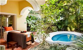 wellness suite terrace Hotel Casa Velas