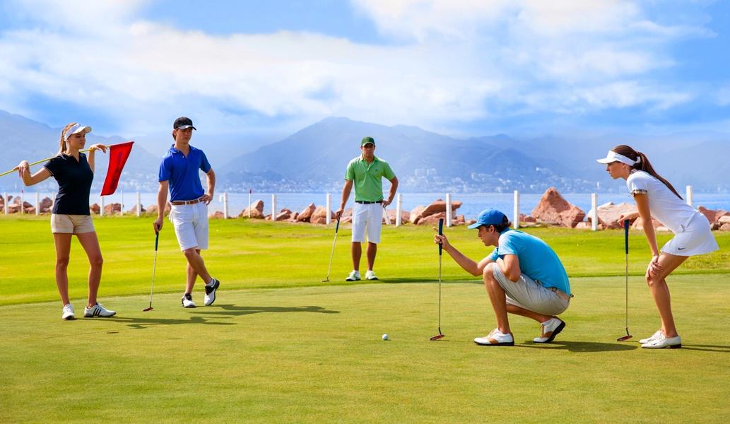 Campo de golf Marina Vallarta, hotel Casa Velas, Puerto Vallarta