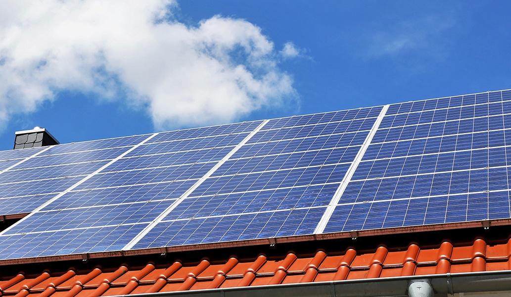 Paneles solares en el hotel Casa Velas, Puerto Vallarta