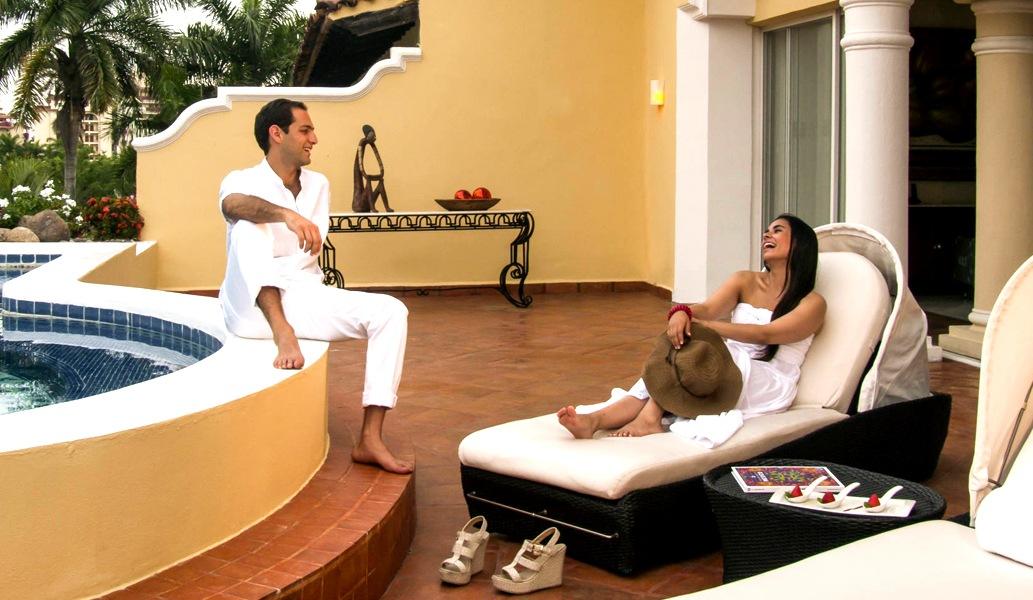 Sala de Prensa del hotel Casa Velas, Puerto Vallarta