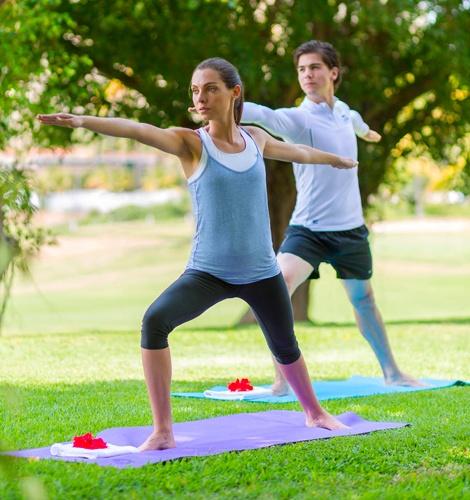 Clases de yoga en el hotel Casa Velas, Puerto Vallarta