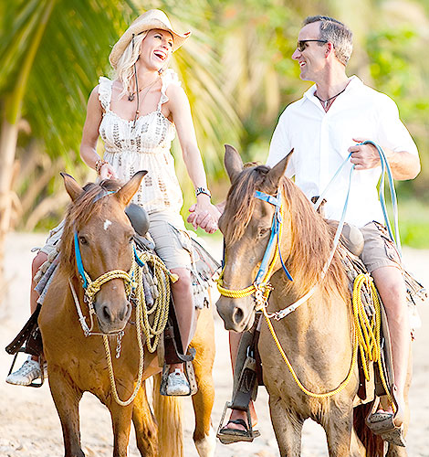 Paseos a caballo en el hotel Casa Velas, Puerto Vallarta