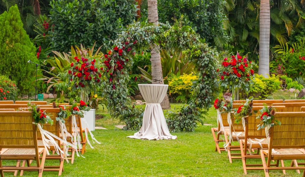 Jardín Botánico en Casa Velas Hotel, Puerto Vallarta